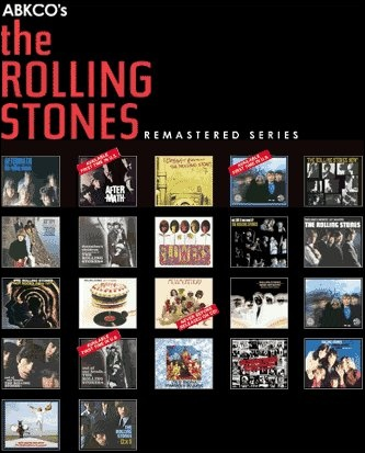 ABCKO Rolling Stones Remastered Series
