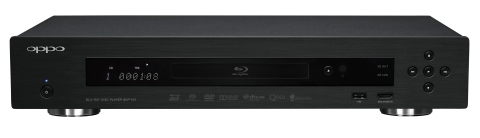 Oppo BDP-103 universal BD/SACD player - front