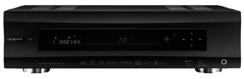 Oppo BDP-105 universal BD/SACD player - front