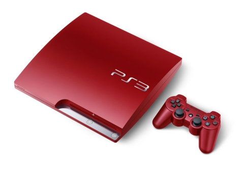 Red PS3 CECH-CH3000B SB