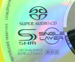 SHM-SACD disc label detail (picture credit: ematcion)