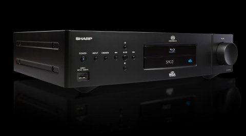 Sharp SD-WH100U universal disc player