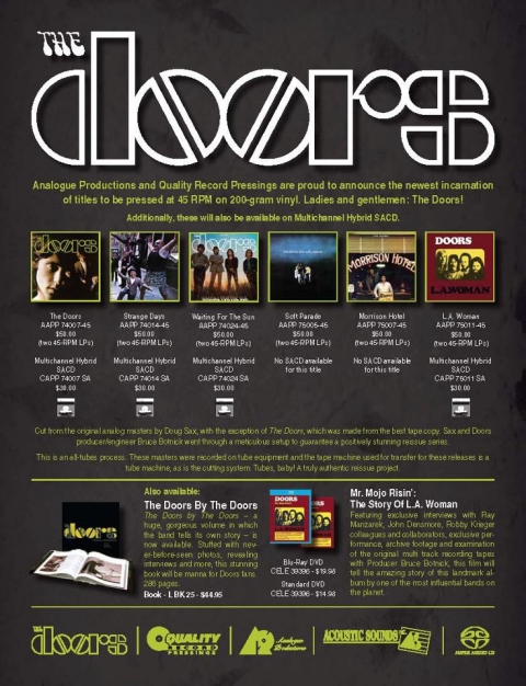 The Doors - Analogue Productions SACD reissue program