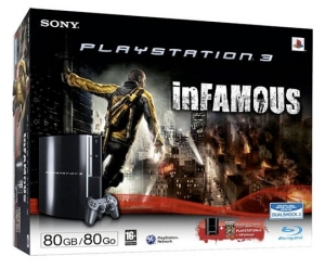 inFamous PS3 bundle